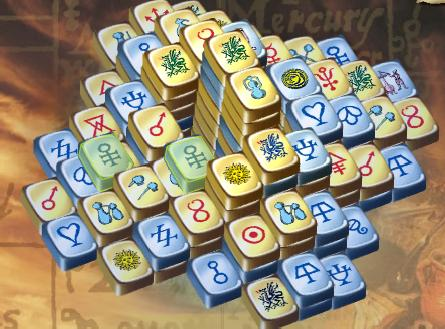 mahjongg alchemy full screen